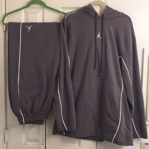 Air Jordan Men's Hoodie Pants Set (Rare)